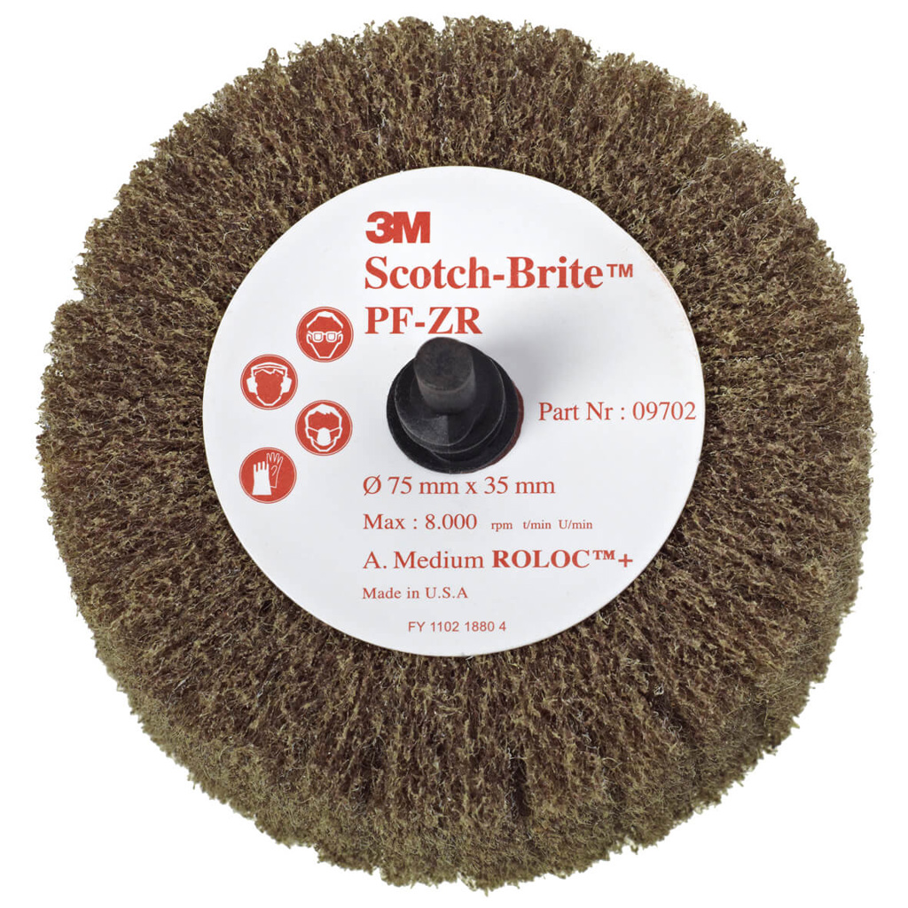 Scotch-Brite™ Roloc™ PF-ZR A medium